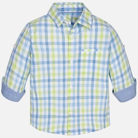 Mayoral 1172-56 Koszula chłopięca krata kolor Brokuł