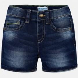 Mayoral 1280-70 Bermudy jeans kolor granat