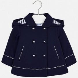 Mayoral 1438-19 Wiatrówka dla dziewczynki marynarska kolor Granatowy