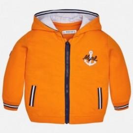 Mayoral 1458-50 Bluza zapinana kolor pomarańcz
