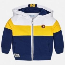 Mayoral 1464-67 Bluza chłopięca z kapturem kolor granat