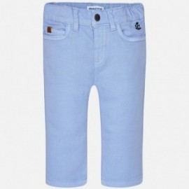 Mayoral 1538-10 Spodnie chłopięce stretch kolor Chmurka