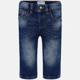 Mayoral 1544-75 Spodnie chłopięce jeans kolor granat