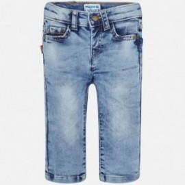 Mayoral 1544-76 Spodnie chłopięce jeans kolor jasny niebieski