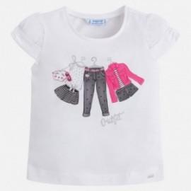 Mayoral 3002-23 Koszulka dziewczęca kolor Magenta
