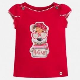 Mayoral 3004-26 Koszulka dziewczęca kolor Czerwony