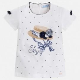 Mayoral 3010-54 Koszulka dziewczęca kolor Granatowy