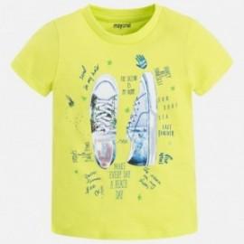 Mayoral 3055-87 Koszulka chłopięca krótki rękaw kolor Brokuł