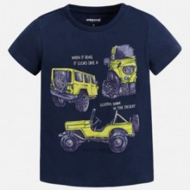 Mayoral 3057-75 Koszulka chłopięca krótki rękaw kolor Granatowy