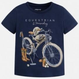 Mayoral 3059-21 Koszulka chłopięca motocykle kolor Granatowy