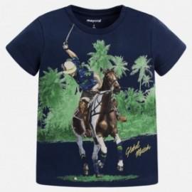 Mayoral 3061-46 Koszulka dziewczęca kolor Granatowy