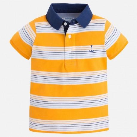 Mayoral 3122-79 Koszulka polo paski kolor Pszczoła