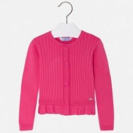 Mayoral 3302-71 Sweter dziewczęcy kolor Fuksja