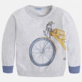 Mayoral 3306-69 Sweter chłopięcy kolor Lustro