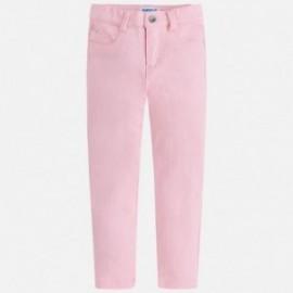Mayoral 3506-19 Spodnie dziewczęce serża kolor Różowy