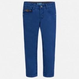Mayoral 3528-67 Spodnie chłopięce z serży kolor granat