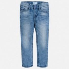 Mayoral 3536-80 Spodnie chłopięce jeans super slim fit kolor jasny niebieski