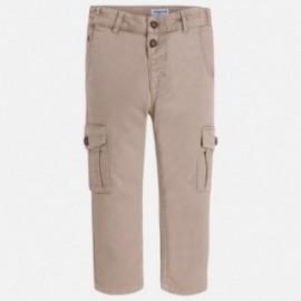 Mayoral 3546-58 Spodnie chłopięce bojówki kolor Beż