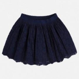 Mayoral 3914-90 Spódnica dziewczęca koronka kolor Granatowy