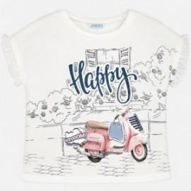 Mayoral 6034-81 Koszulka dziewczęca kolor Różowy