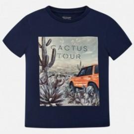 Mayoral 6071-34 Koszulka chłopięca kolor Granatowy