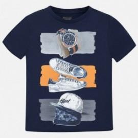 Mayoral 6075-67 Koszulka chłopięca kolor Granatowy