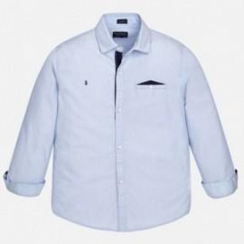 Mayoral 6158-66 Koszula chłopięca kolor Błękitny