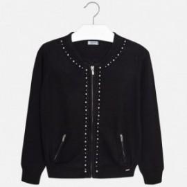 Mayoral 6310-29 Sweter dziewczęcy kolor Czarny