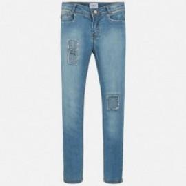 Mayoral 6506-36 Spodnie dziewczęce kolor ciemny niebieski