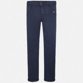 Mayoral 6524-21 Spodnie chłopięce długie ze stretchem kolor Granat