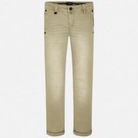 Mayoral 6528-91 Spodnie chłopięce kolor Kminek