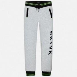 Mayoral 6538-80 Spodnie chłopięce kolor Cement