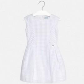 Mayoral 6944-30 Sukienka dziewczęca kolor Biały