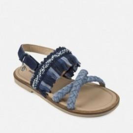 Mayoral 43891-44 Sandály pro dívky barva námořnictva