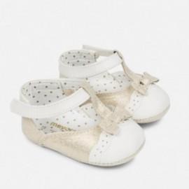Mayoral 9806-94 Buty niemowlęce dla dziewczynki kolor Biszkopt