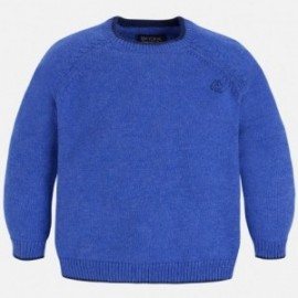 Mayoral 311-47 Sweter z lamówką kolor Lawendowy
