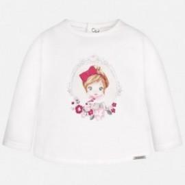 Mayoral 2045-34 Koszulka dziewczęca kolor Owoc granatu