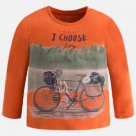 Mayoral 4015-11 Koszulka chłopięca rower kolor Glina