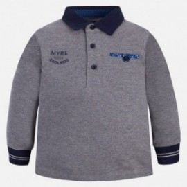 Mayoral 4109-54 Koszulka polo chłopięca kolor szary