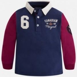 Mayoral 4115-73 Koszulka polo chłopięca kolor bordo