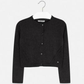 Mayoral 326-49 Sweter dziewczęcy kolor Antracyt