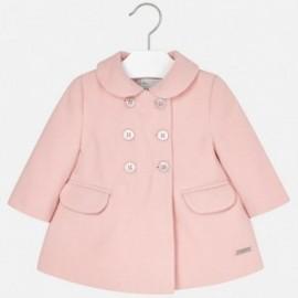 Mayoral 2481-90 Płaszcz dziewczęcy kolor Guma do żucia