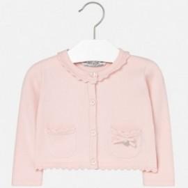 Mayoral 2337-18 Sweter rozp. dzianina kolor Różowy