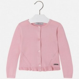 Mayoral 4331-86 Sweter dziewczęcy kolor różowy