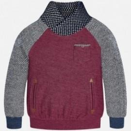 Mayoral 4411-46 Bluza chłopięca kolor bordowy