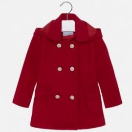 Mayoral 4422-44 Płaszcz dziewczęcy kolor czerwony