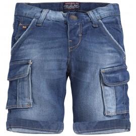 Spodenki Mayoral 3236 jeans niebieski