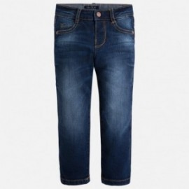Mayoral 504-29 Spodnie jeans slim fit basic kolor Ciemny