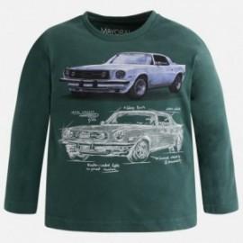 Mayoral 4017-80 Koszulka chłopięca samochód kolor zielony