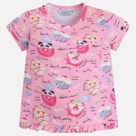 Mayoral 3038-96 Koszulka dziewczęca kolor Magenta
